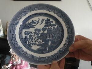 Blue Willow -set of Dishes Johnson Bros, Royal Wessex,Old Willow