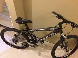 Kona Dawg Full Suspension bike for sale - barely used