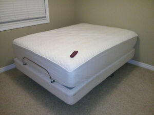 Adjustable Bed (Boxspring, Mattress, Remote Control)
