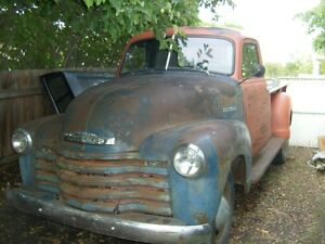 1950 Chevy 3800 Advanced Design 1 Ton Pickup