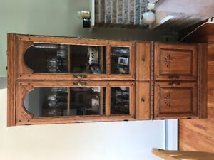 (Emptied and Cleaned) Set of 3 China Cabinets
