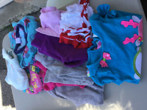 Toddler girl size 4  mixed lot