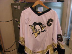 Sidney Crosby Autographed Jersey XL