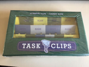 Unopened task clips