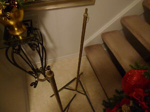2 Smith Victor Model S2 Light Stand Tripod Vintage