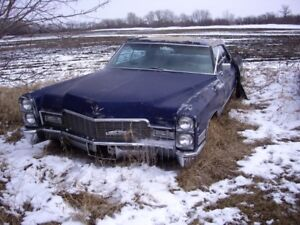 1968 Cadillac deville 4 door hardtop parting out