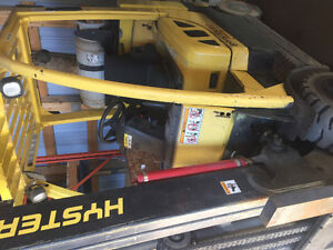 Two 2007 hyster Forklifts box car specials