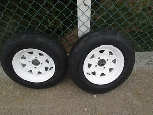 """2- 5.30x12"""" BRAND NEW trailer tires"""