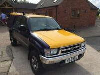 2001 Toyota Hilux 2.4TD EX MK4 Double Cab - Only 23,250 Miles *