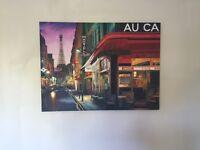 Paris canvas painting for sale!