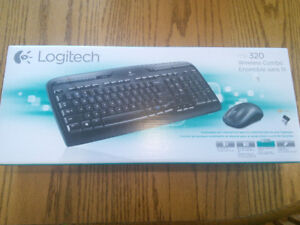 NEW Logitech MK320 Wireless Keyboard and mouse combo