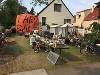 Absolutely huge yard sale. Every day 9:00 AM to 9:00 PM