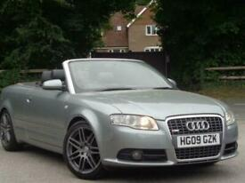 image for 2009 Audi A4 TDI S LINE SPECIAL EDITION Convertible Diesel Manual