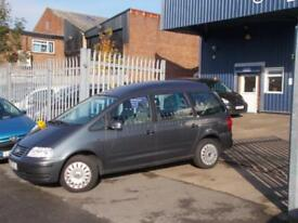 Wheelchair Accessible VW Sharan 1.9TDI auto