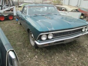 1966 chevy el camino  efi  LT1 4L60 project car