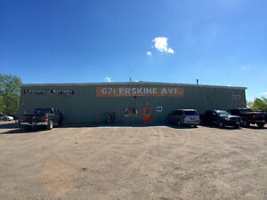 1000 square feet industrial unit, heat & hydro & HST included