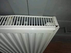 Single panel radiator