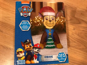 Brand New inflatable CHASE Paw Patrol Christmas Airblown