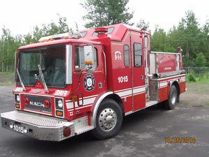 Camion pompier Pompe incendie