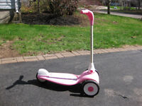 Girl's Radio Flyer Scooter