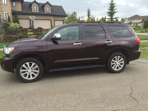 2014 Toyota Sequoia Limited - One Owner Local SUV