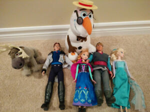 Disney Frozen Dolls Lot