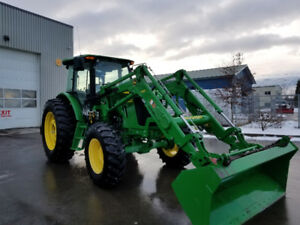 2014 JD 6115d tractor.  Virtually new.
