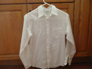 white dress shirts size 14-16. Great for a wedding or christmas