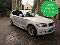 FROM £169.89 - 2011 PER MONTH BMW 118 2.0TD AUTOMATIC M SPORT 3 DOOR DIESEL