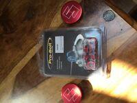 Suzuki bandit sprocket nuts and frame plugs.