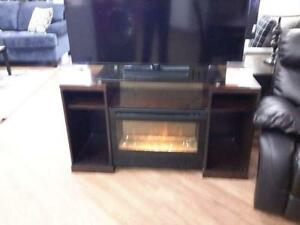 *** USED *** EZTIA FRANKLIN TV STAND   S/N:713444   #STORE548