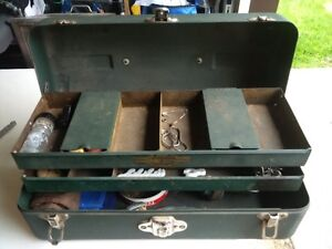 Vintage Fly Fishing tackle box