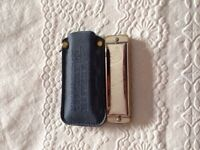 Bargain ! New country western harmonica made GDR g octave