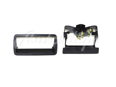 Tailgate Handle Latch Bezel Trim Text Black FOR CHEVY S10 PICKUP 1994-2004 ()
