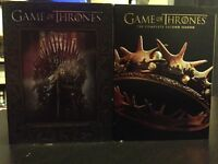 Game of Thrones Season 1 and 2 $20 each