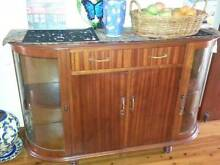 Antique furniture - buffet $180 and storage cabinet $120 Revesby Bankstown Area Preview