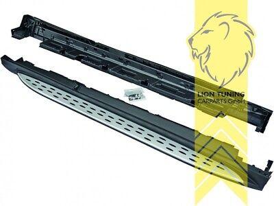 Trittbretter Schweller Seitenbretter Set ALU für Mercedes Benz GLE Coupe C292