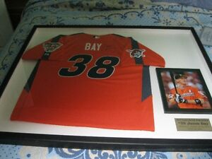 Autographed Signed Jason Bay ALL STAR  Jersey 2005 FRAMED