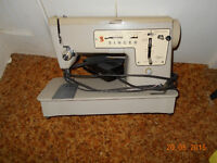 2 SEWING MACHINES FOR PARTS OR REPAIR