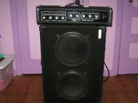 1970s Traynor Voicemate Reverb Amp & Boogie Box Speakers