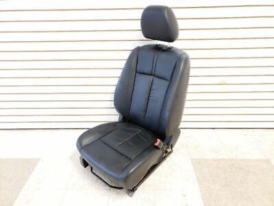 10-12 Nissan Altima Sedan Front Right Seat Leather Black Trim G