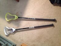 Selling or trading lacrosse heads and shafts