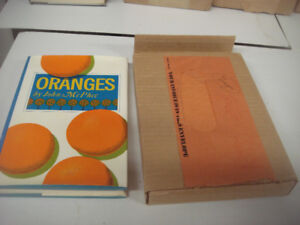 ORANGES - FIRST EDITION BY JOHN MCPHEE