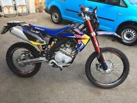 Rieju mrt pro LC 200cc,16 reg road legal enduro bike