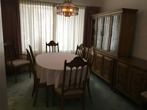 Dining Room Suite including chairs