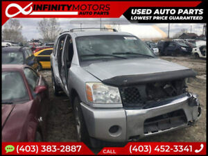 2005 NISSAN ARMADA FOR PARTS PARTING OUT CARS CAR PARTS