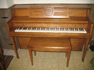 Piano for sale-with bench-Excellent