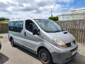 Renault Traffic wav campervan project