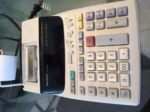 Calculatrice électronique Sharp El-1801V