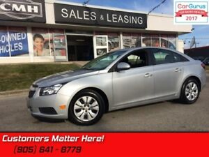 "2014 Chevrolet Cruze 1LT  CAMERA, BLUETOOTH, 7"" SCREEN, MY-LINK"